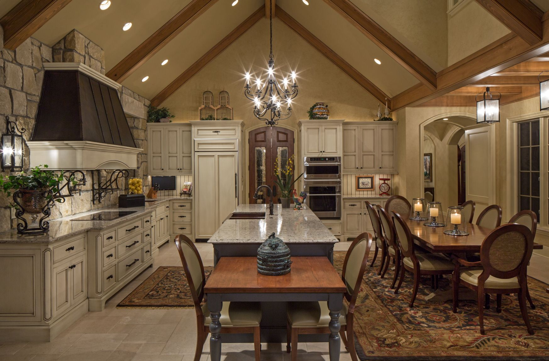 European Custom Kitchen By Curt Hofer Associates House MakeoversWood And MetalCustom KitchensDecoration
