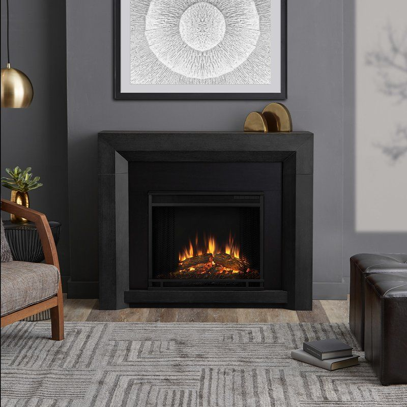 Hughes Electric Fireplace Living Room Decor Traditional