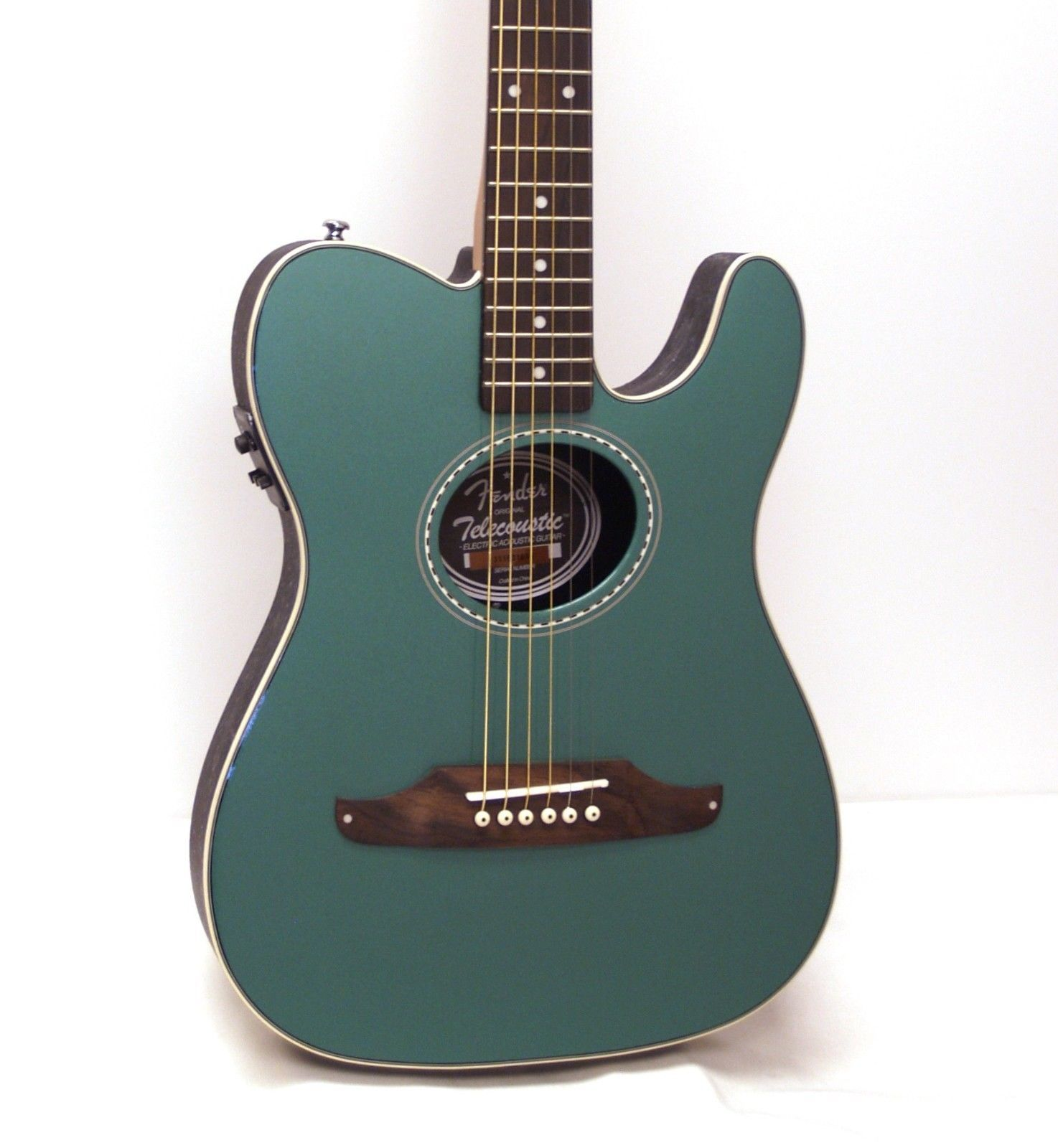 fender telecoustic plus acoustic electric guitar sherwood green guitars we sell pinterest. Black Bedroom Furniture Sets. Home Design Ideas