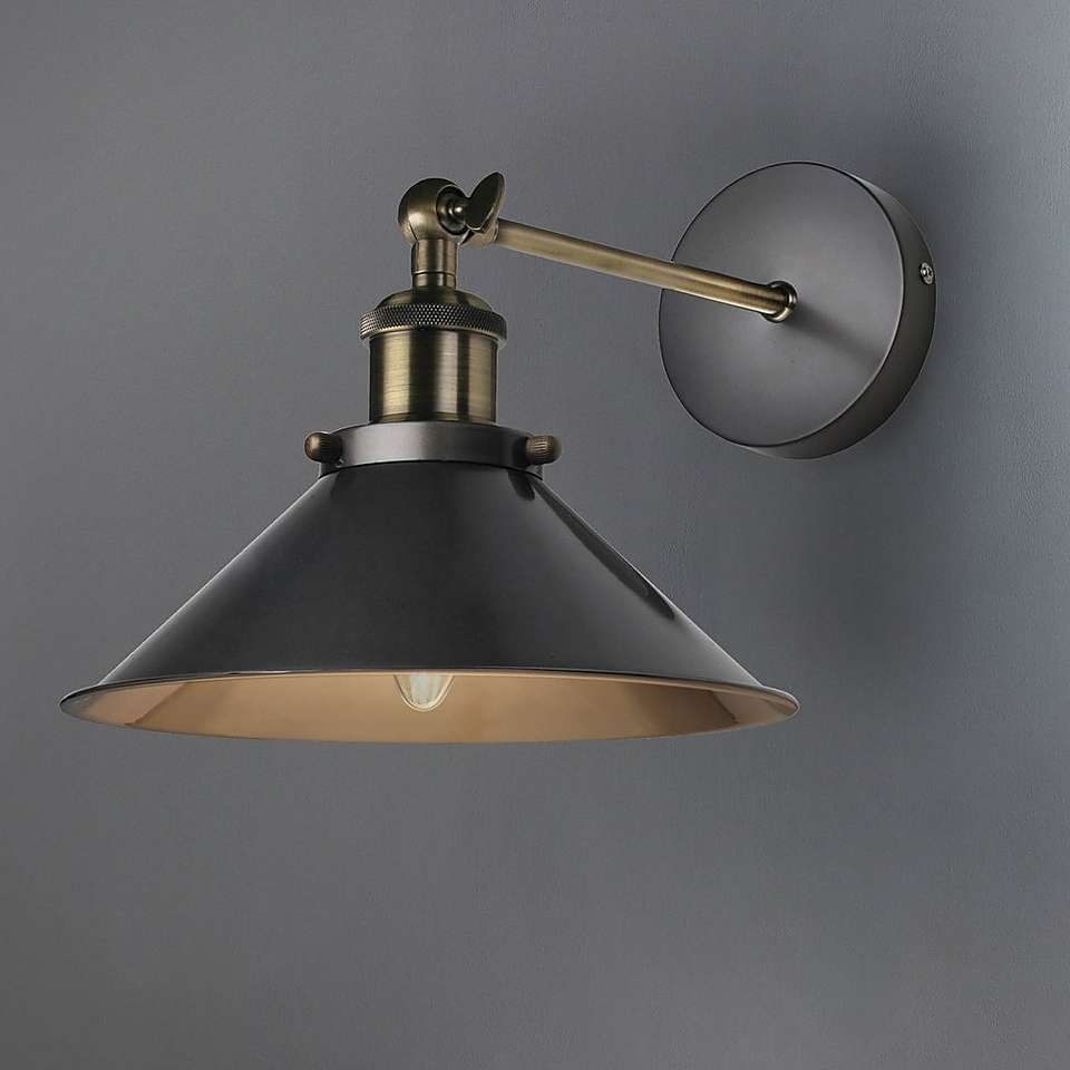 Logan Wall Light Black Wall Lights Wall Lights Wall Mounted Lights Bedroom