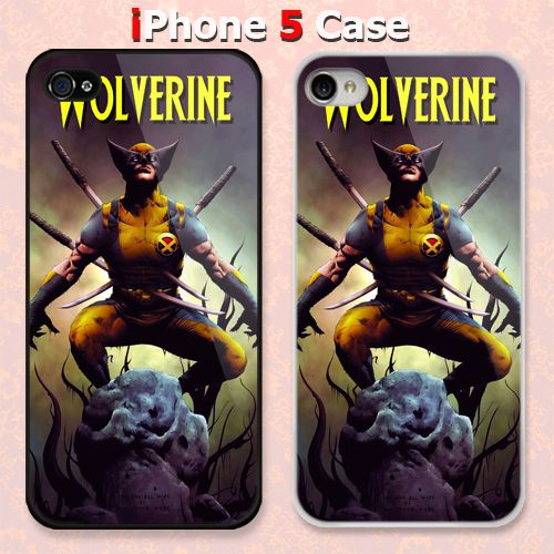 Wolverine Punctured Samurai Custom iPhone 5 Case Cover