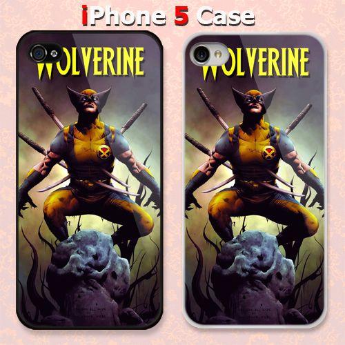 Wolverine Punctured Samurai Custom iPhone 5 Case Cover
