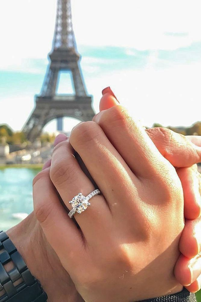 Vintage Half Carat Diamond Engagement Ring