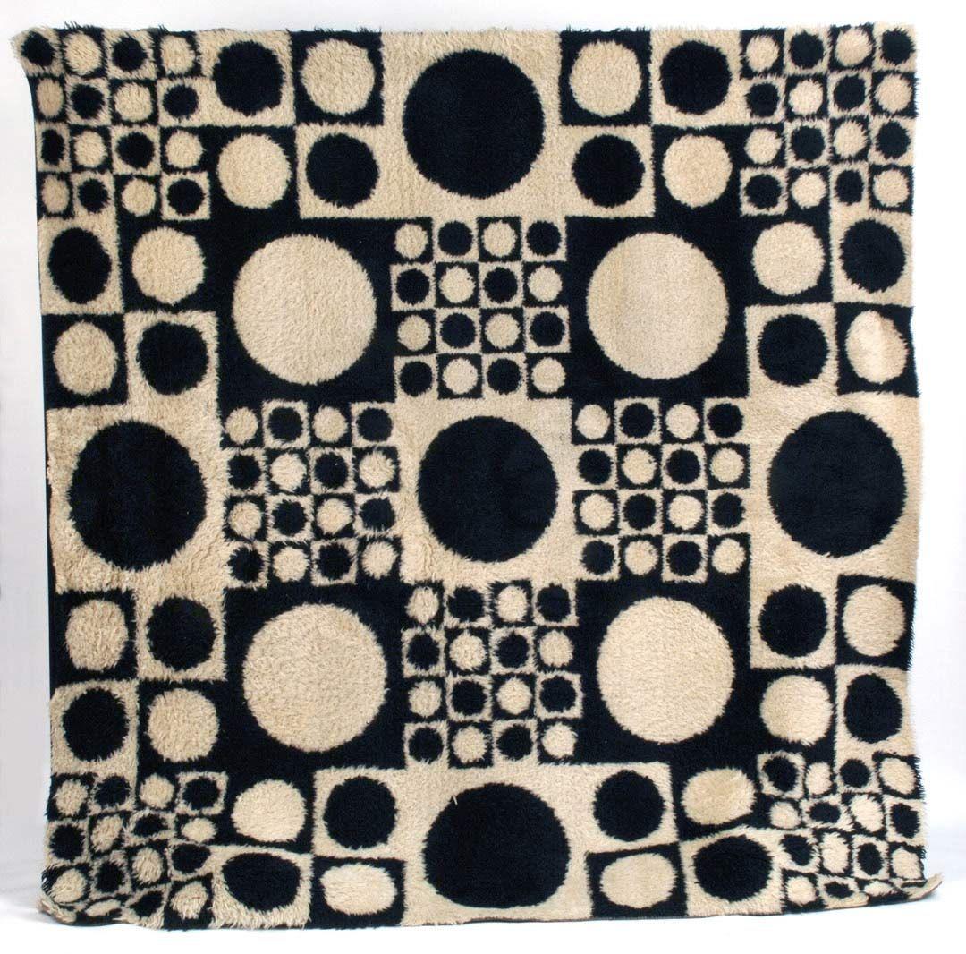 rug designs and patterns. Verner Panton; Wool \u0027Geometri 1\u0027 Rug For Unika Væv, Designs And Patterns