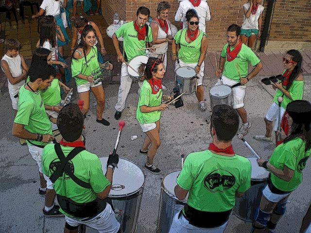 Santacara: Samba - Kara - 14/08/2013 en Santacara