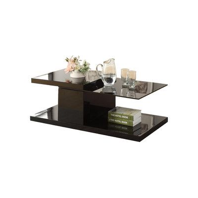 hokku designs monda swivel coffee table & reviews | wayfair.ca