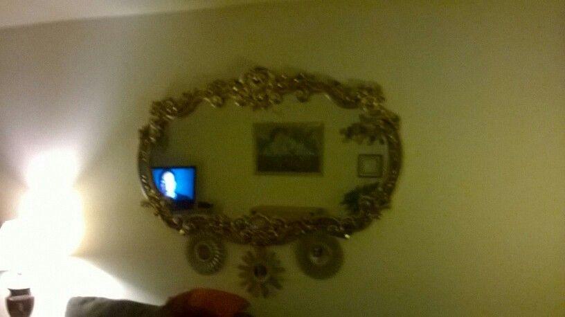 My momma's mirror.