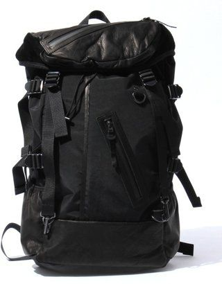 5e4470d9ffea ShopStyle: [DECADE]60nylon×oiled cow leather backpack. ShopStyle (ショップスタイル)  ...