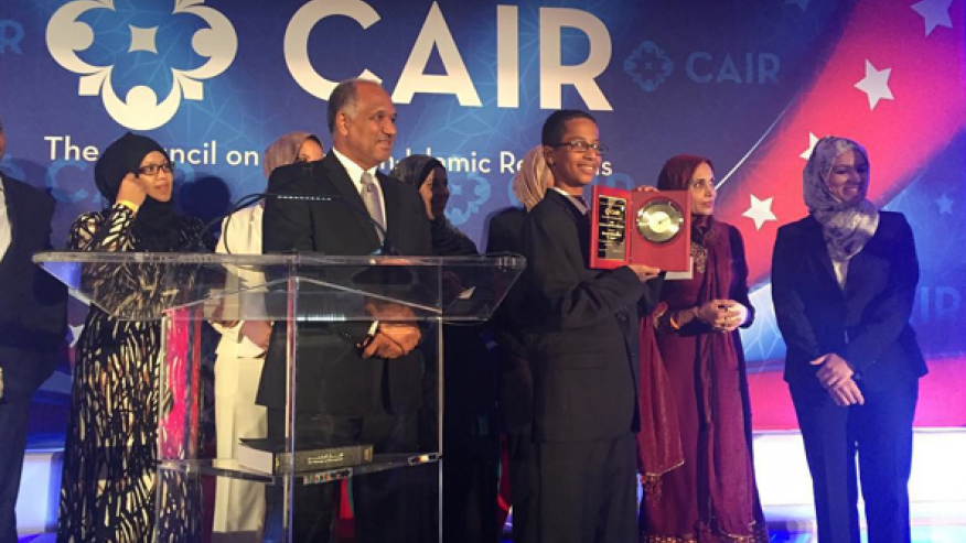 CAIR Names 'Clock Boy' Ahmed 'American Muslim of the Year'   Truth Revolt