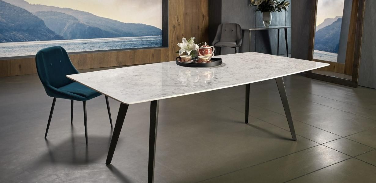 This Beautiful Range Features Italian Carrara Marble Boasting A