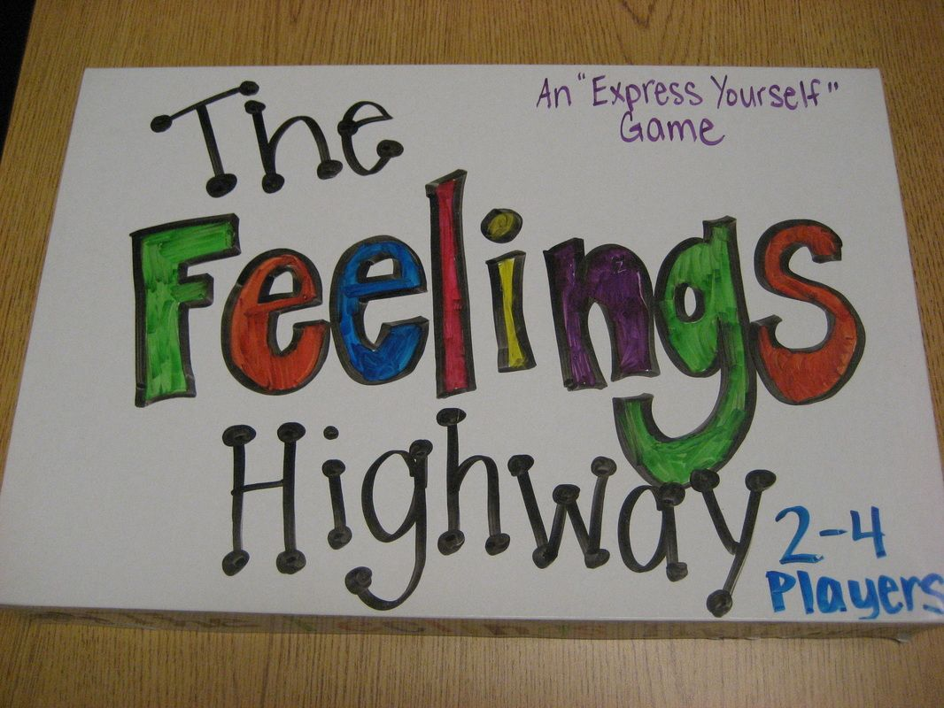 Feelings Highway Game Diy Board Games Play Therapy