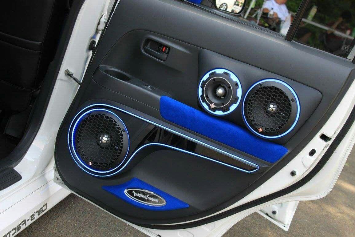 Rockford Fosgate 3-way component set | Car audio ideas
