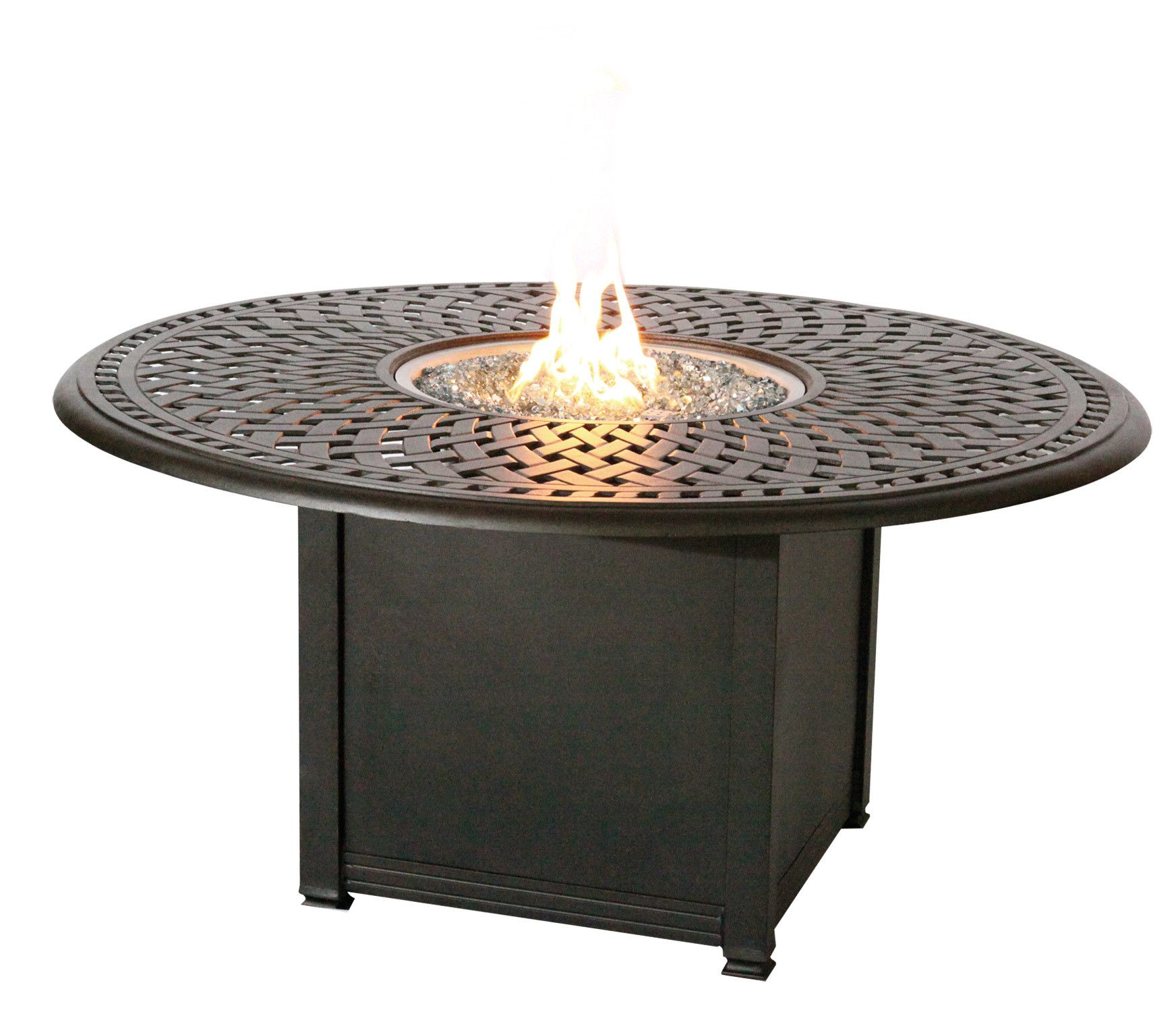 Features Fabric Furniture And Granite Tile Colors May Vary Due To Printing And Are Beyond The D Fire Pit Dining Set Propane Fire Pit Table Fire Pit Table