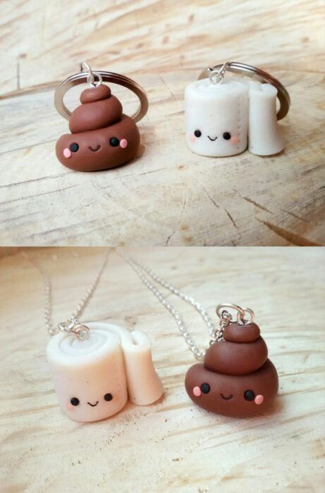 Pin By Shipeadora Yoonmin On Hacer V Clay Charms Bff Friends