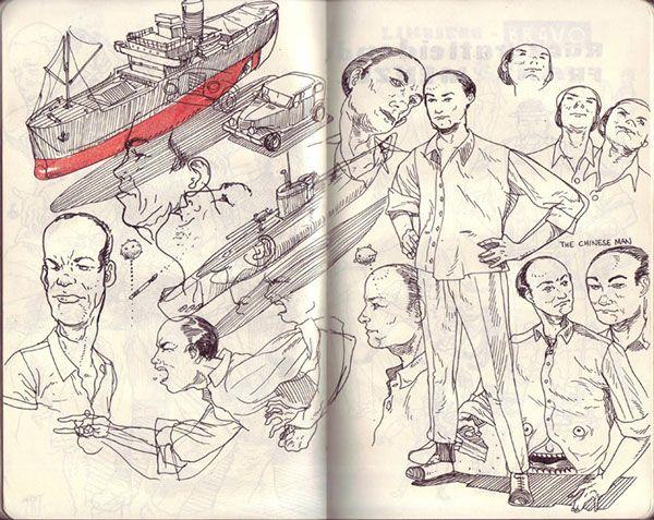 Sketchbook 2011 on Behance