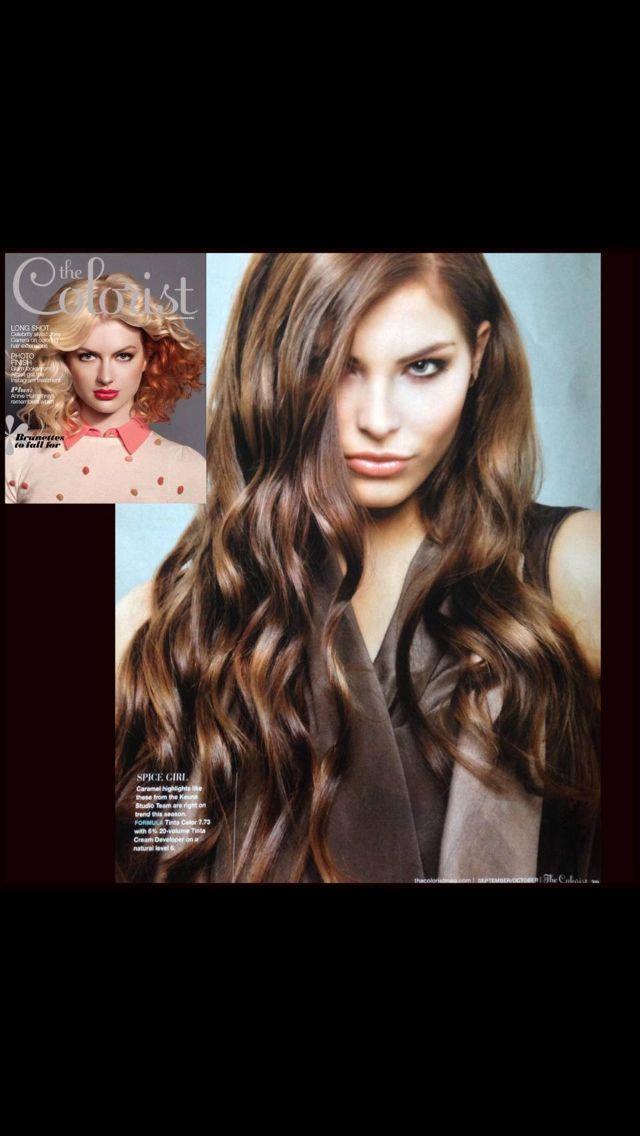 Keune. 7.73 beautiful Carmel Brown | Hair Color | Pinterest