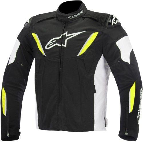 ALPINESTARS 2017 JAWS Perforated Leather Sport Riding Jacket Choose Size Black
