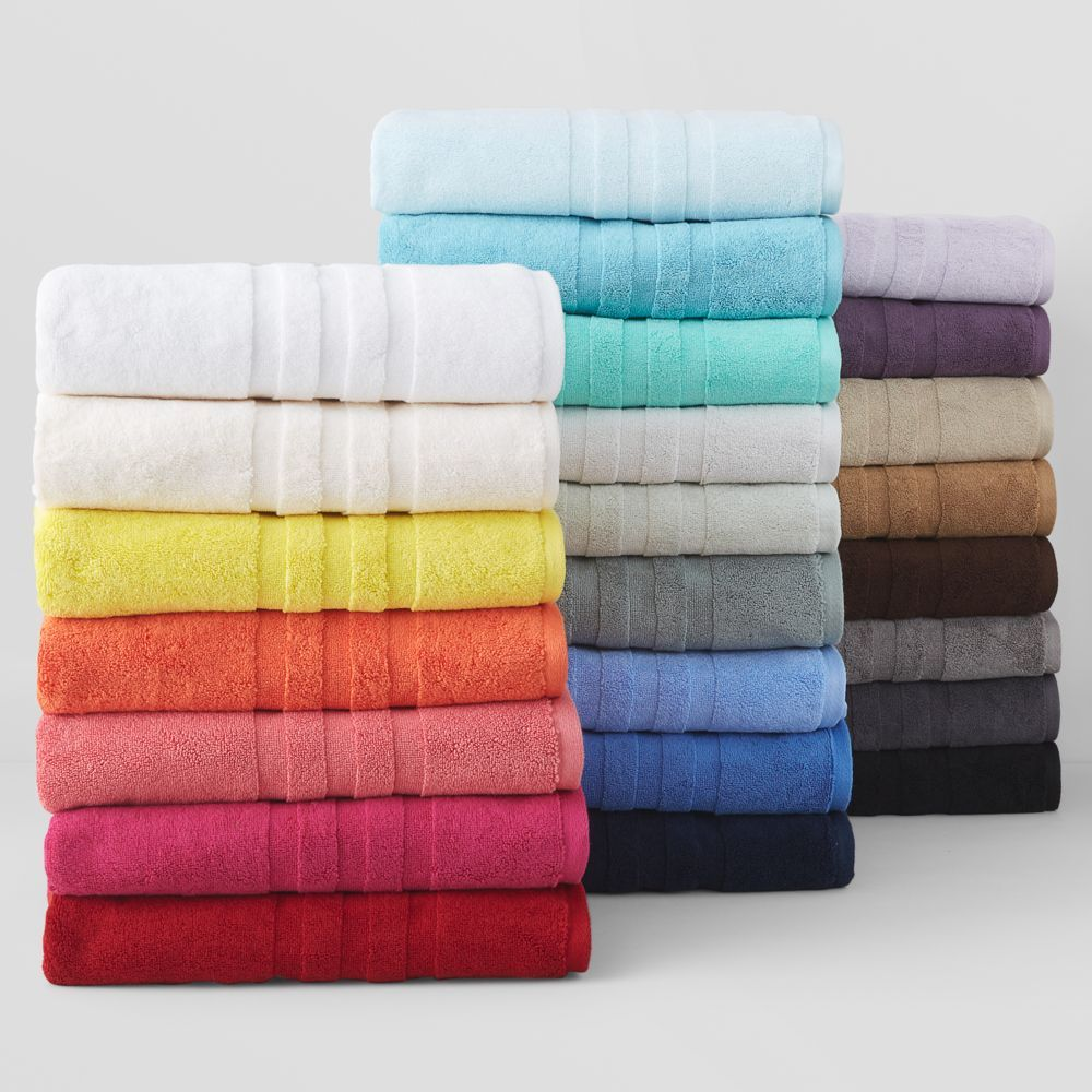 Ralph Lauren Palmer Hand Towel Towel Collection Plush Cotton
