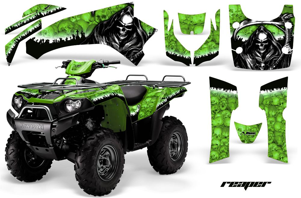 Graphic kit for kawasaki brute force decals by amr racing graphics thickest on the planet