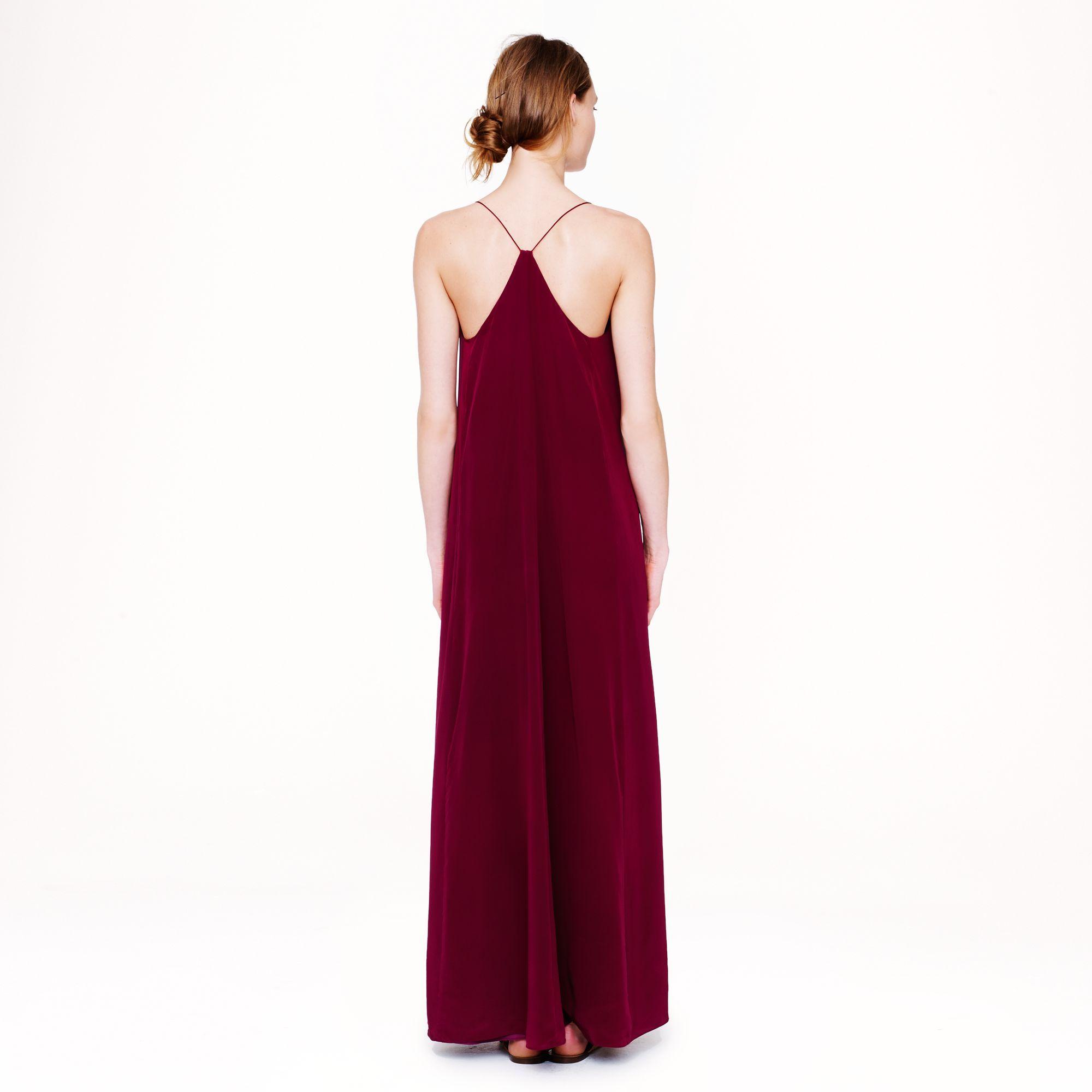 Collection silk maxidress : Women collection | J.Crew