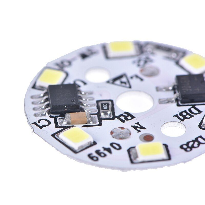 2pcs Mb10f 2835 Smd Light Board Led Lamp Panel For Ceiling Ac 165 265v Led Power Supply Driver 3w 2pcs Mb10f 2835 Light Led Power Supply Light Board Led