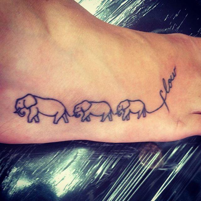 37 mind boggling elephant tattoo designs elephants. Black Bedroom Furniture Sets. Home Design Ideas