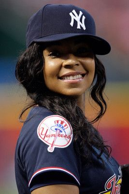 newest collection 9d4ed f66bc 39. ashanti wearing Yankee Jersey | Cap lover