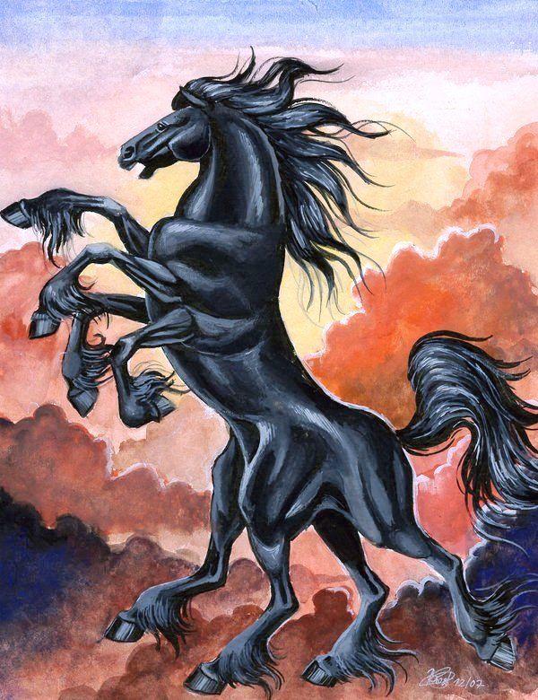 Image of sleipnir horse norse mythology