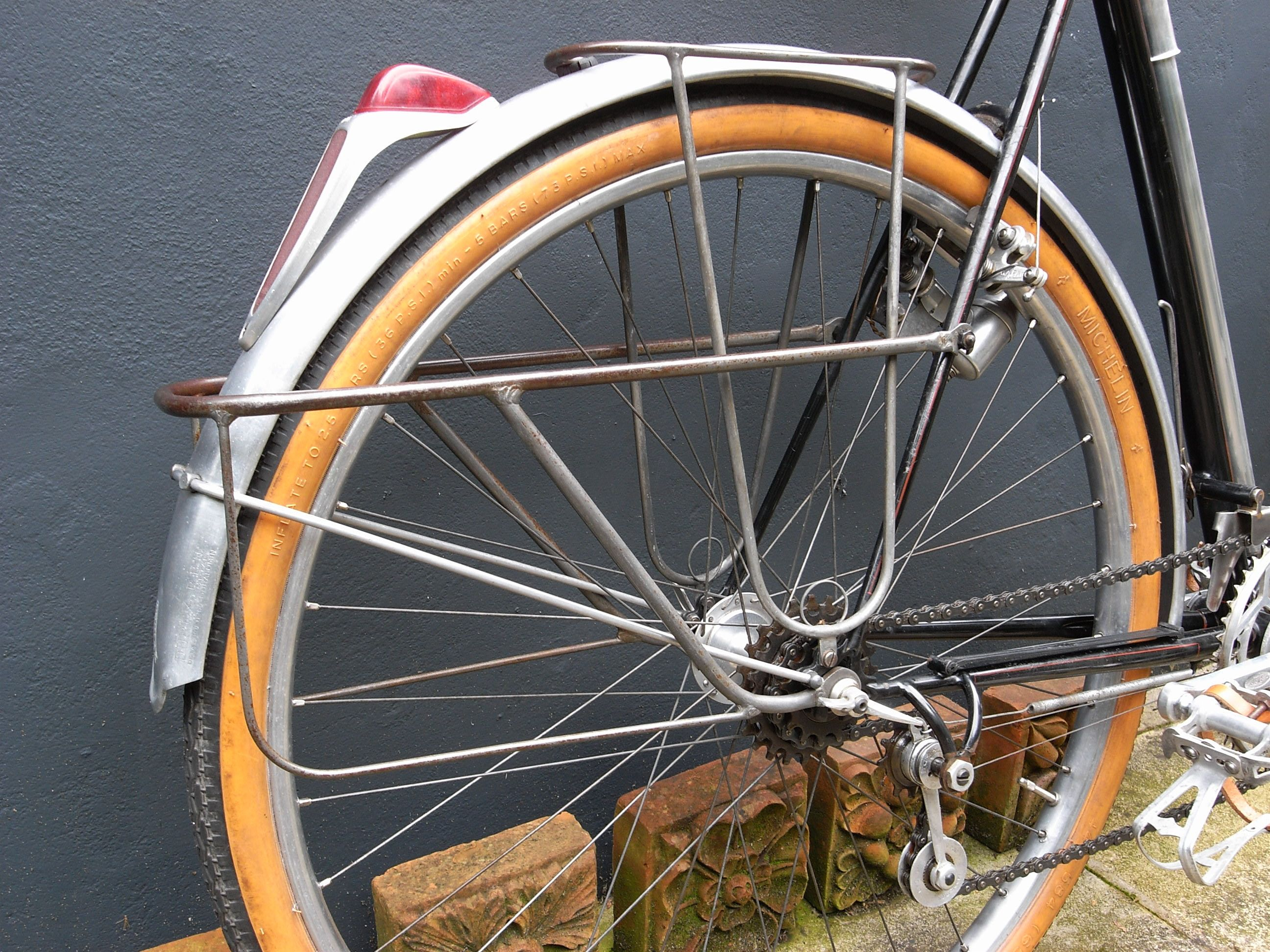 A Classy Custom Low Rider Rear Rack Lets Panniers Anchor Low
