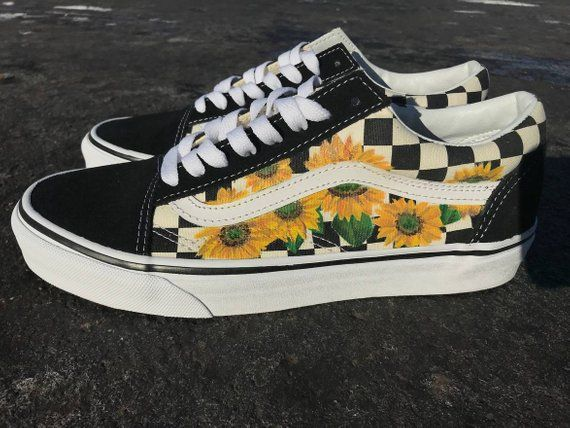 f30485335a Sunflower Vans Old Skool Shoes