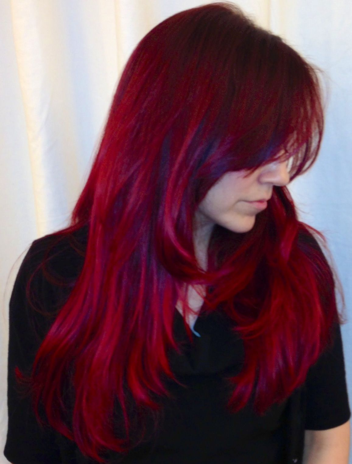 How To Retouch Red Hair With Manic Panic Vampire Red Hair