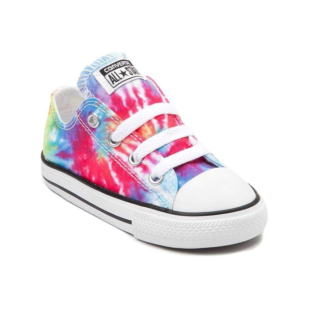 a09564655b1f Toddler Converse Chuck Taylor All Star Lo Tie Dye Sneaker