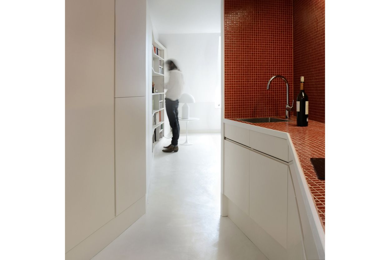 Intimate playtime. appartement I Paris 1er - Guillaume Ramillien Architecture Urbanisme Illustration