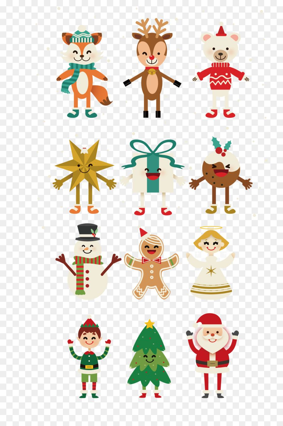 Free Download Christmas elements collection png image