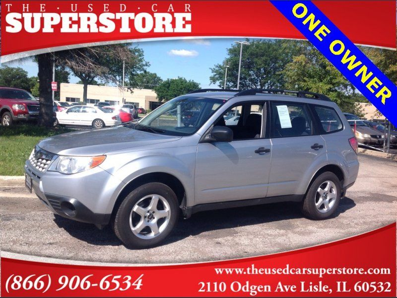 Used 2012 Subaru Forester 2.5X for sale in Lisle, IL 60532
