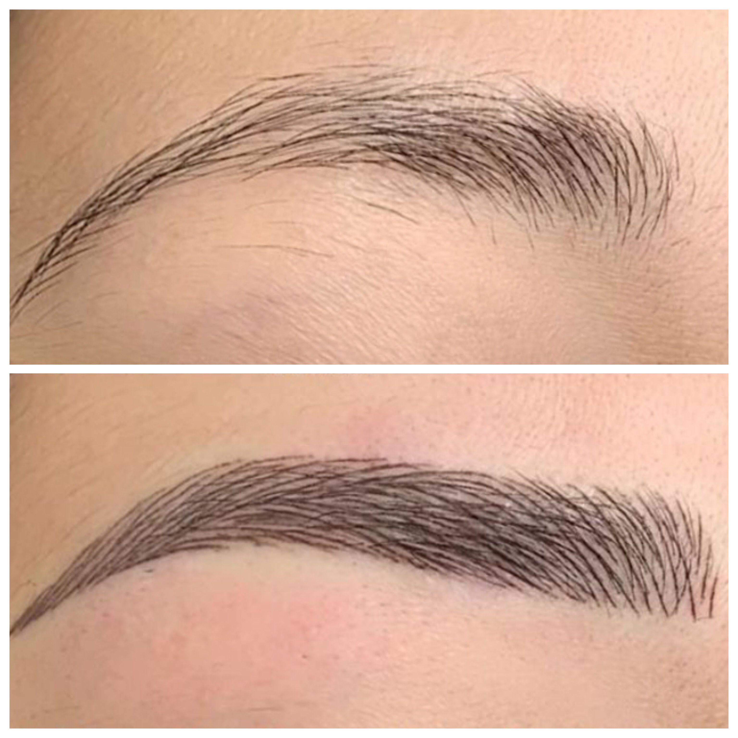 Photo of Eyebrow Microblading – Semi Permanent Makeup – Brow Design By Dina