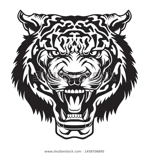 Find Angry Tiger Head Vector Illustration Use Stock Images In Hd And Millions Of Other Royalty Free Stock Photos Vector Illustration Angry Tiger Illustration