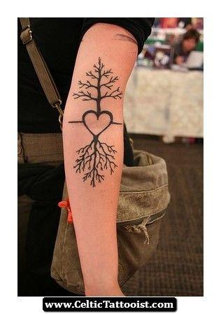 Alder Tree Tattoo Alder Tree Tattoo 07 Tattoo Pinterest