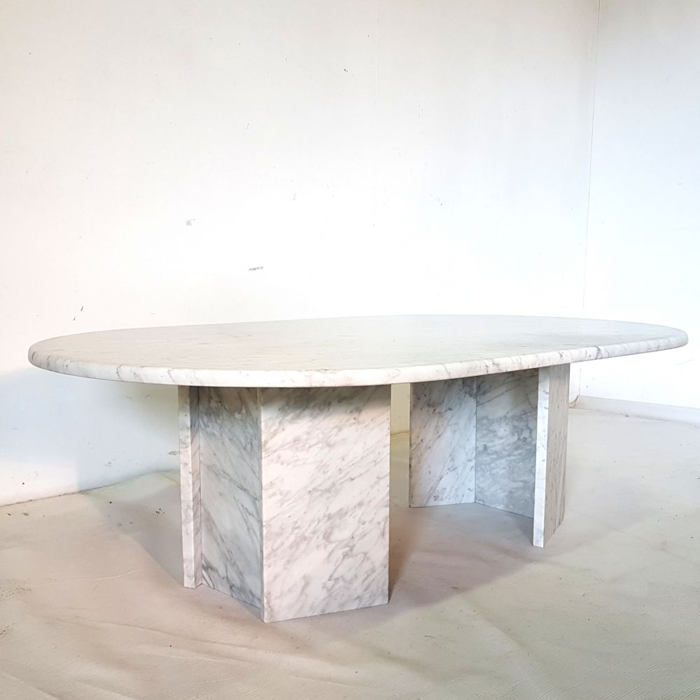 For Sale Carrera Marble Coffee Table 1970s Coffee Tables For Sale Table Oval Coffee Tables