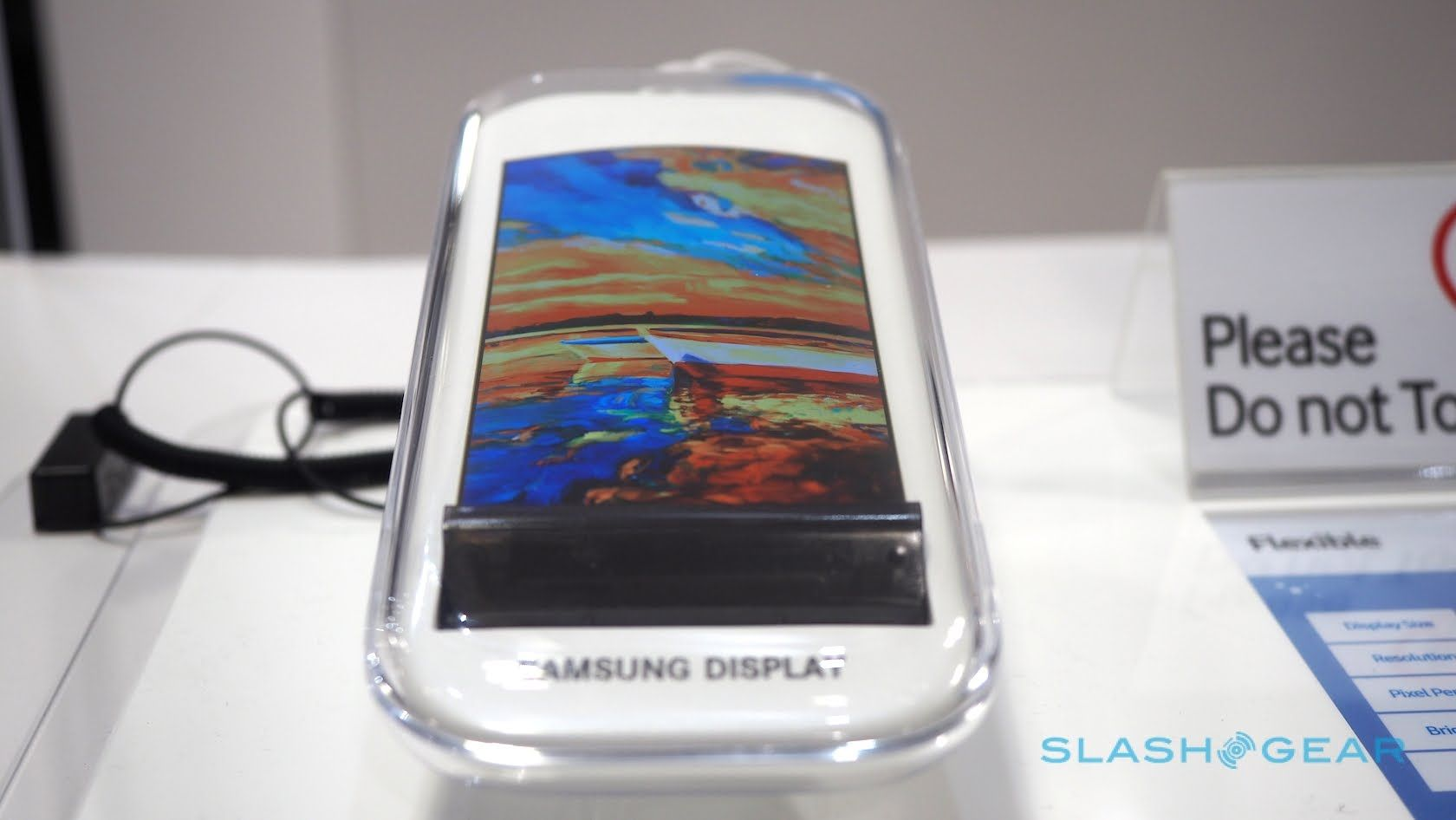 Samsung Display rollable OLED prototype Review Watch