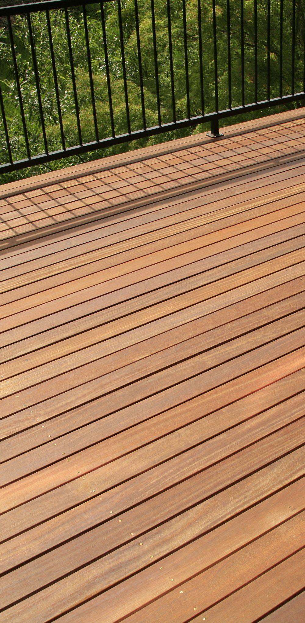Cumaru Hardwood Deck Stainless Steel Screws Deck Fastener Techniques Metal Railing Wood Deck Hardwood Decking Cumaru Decking Metal Railings