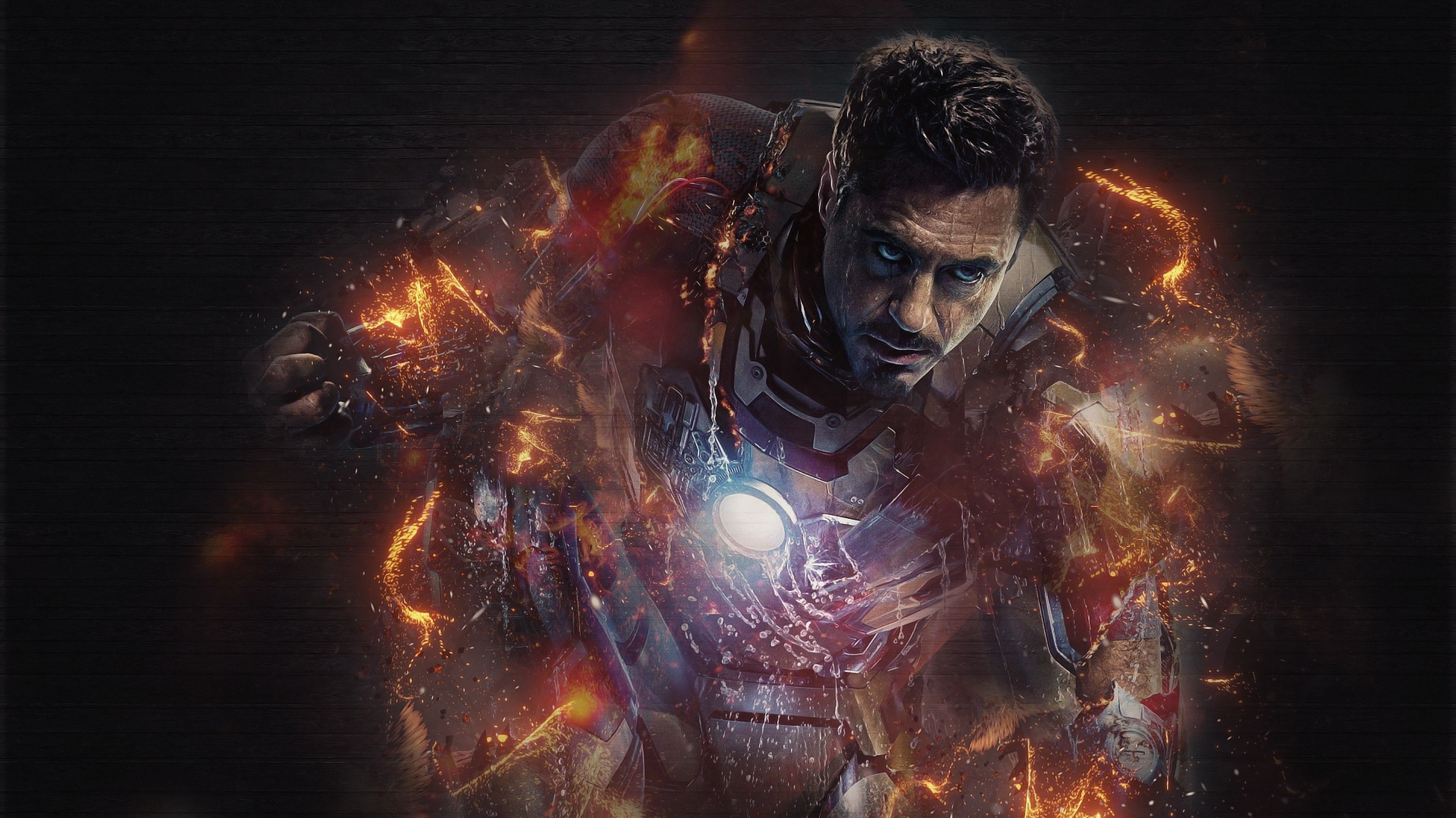 Ironman 4k 2018 Superheroes Wallpapers, Robert Downey Jr