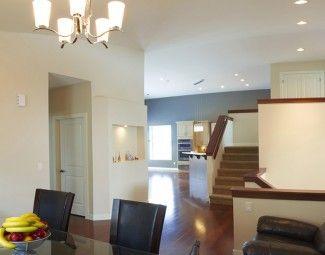 iluminacion, decoracion, puertas, pintura, ambiente, sillas, comedor ...