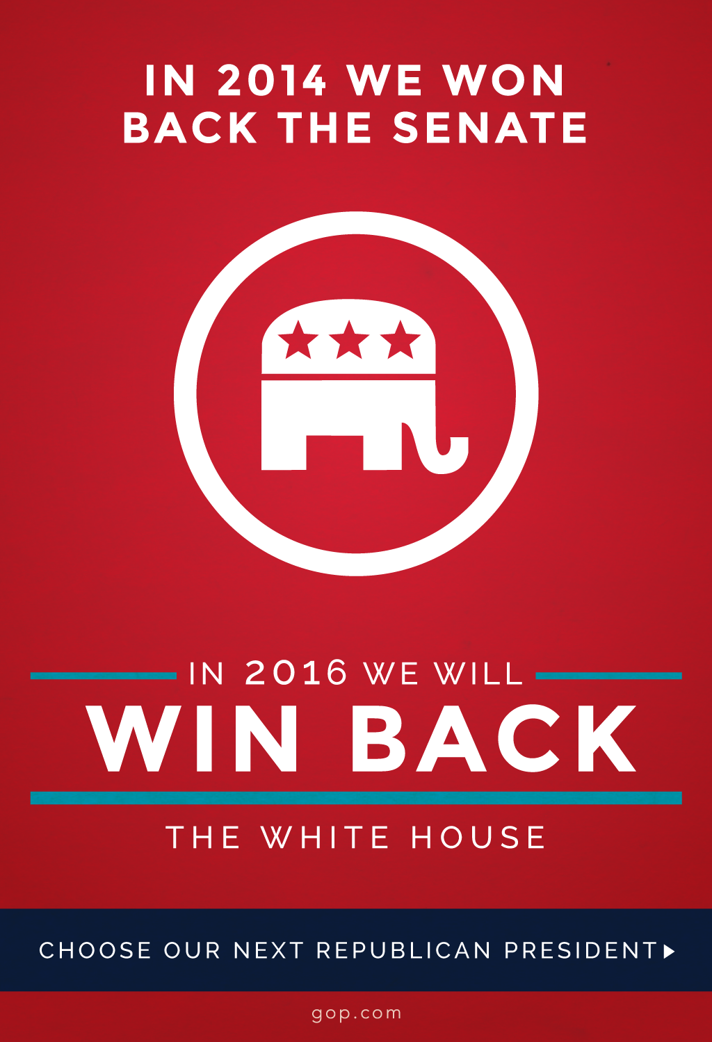 Who will be representing YOU in the 2016 White House? Cast your vote now!