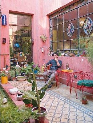 Patio vintage patios pinterest estilo vintage - Patios con estilo ...