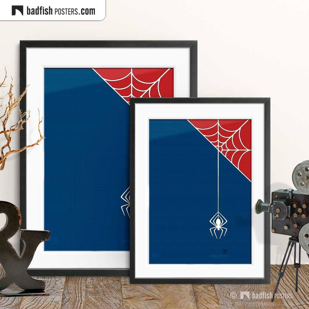 Spiderman Print, Alternative Movie Poster, Super Hero