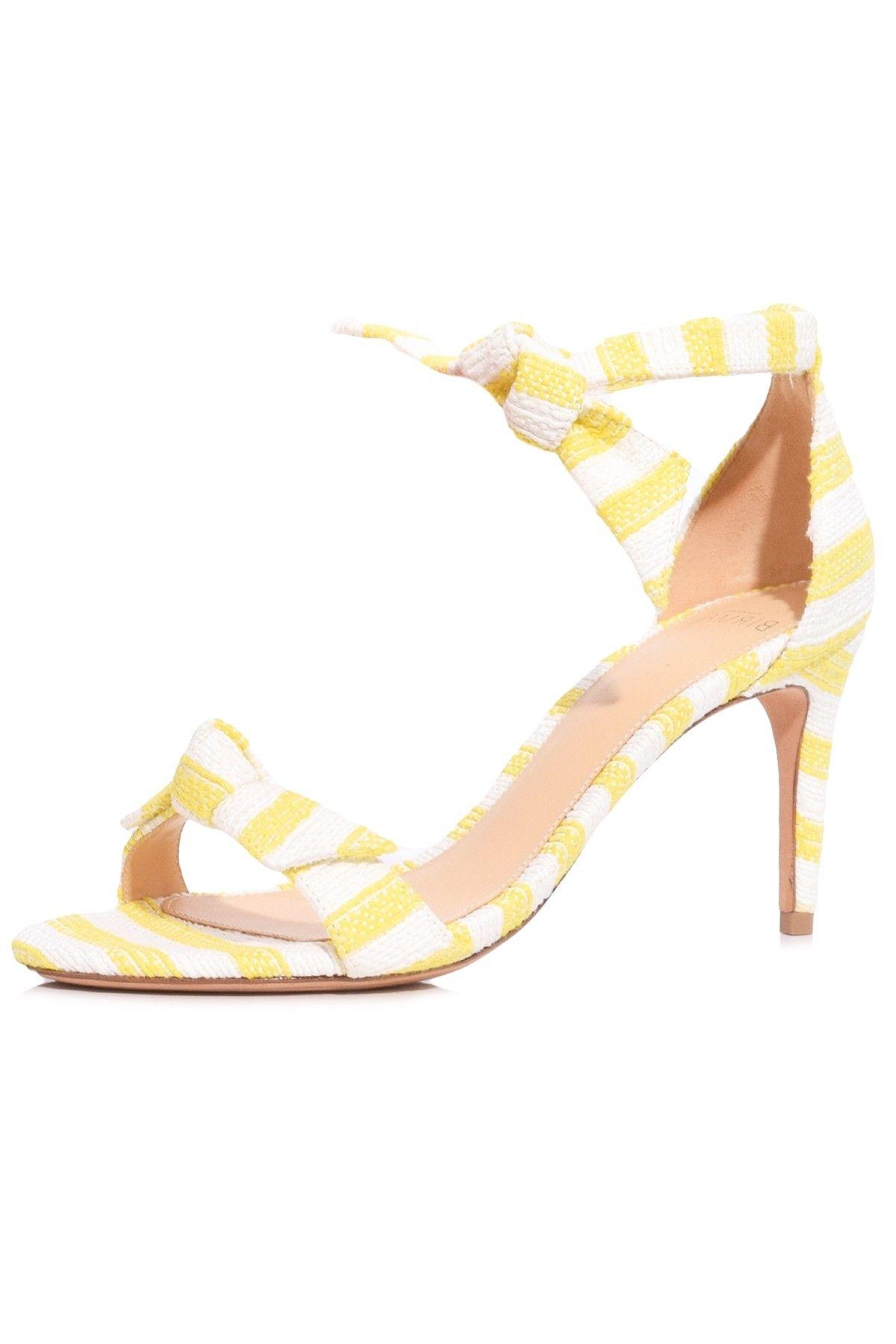 dda1df3d750 Clarita Heel in Sunflower in 2019 | Hampden Shoes | Shoes, Heels ...