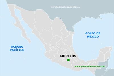 Estado De Morelos Mexico Mapa Ubicacion Y Mas Con Imagenes Oceano Pacifico Golfo De Mexico