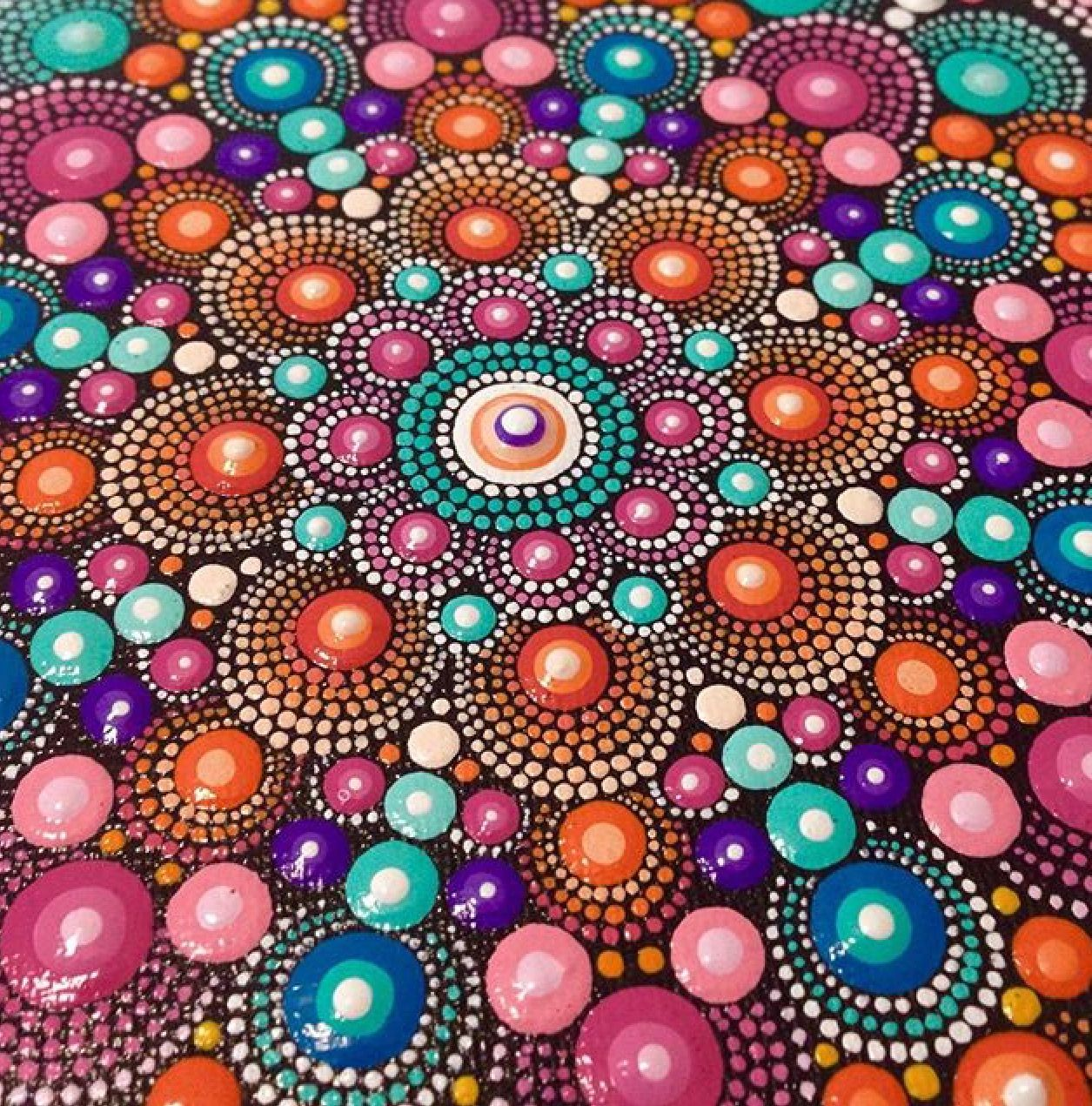 Pin by J C on Connect the Dots | Pinterest | Dot painting, Painting ...