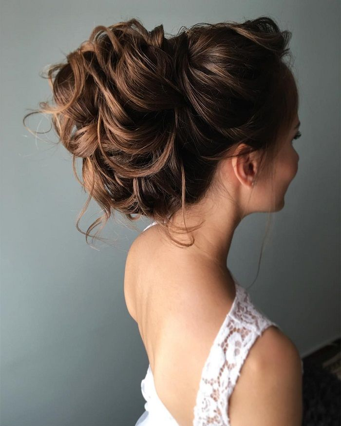 Country Wedding Hairstyles: 36 Messy Wedding Hair Updos For A Gorgeous Rustic Country
